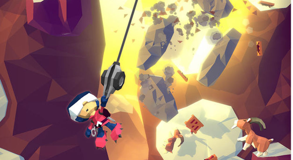 Vertical Grappling Hook Game 'Hang Line' Launching January