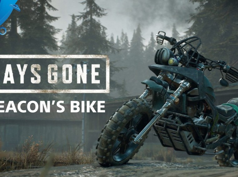 Building Deacon's Bike in Days Gone – PlayStation Blog | Blackally