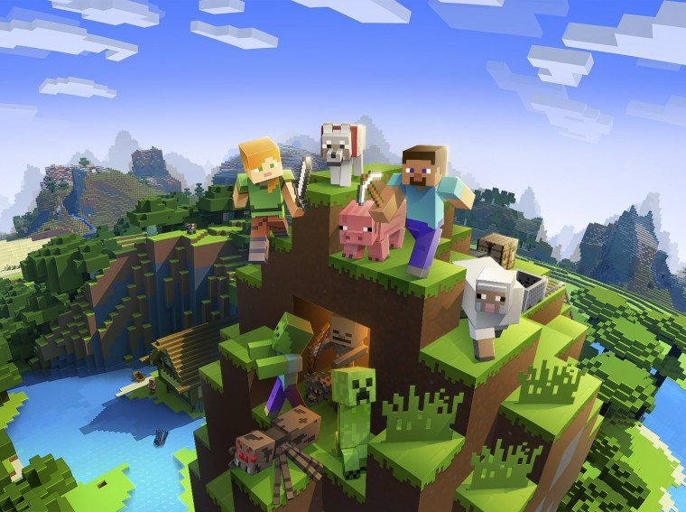 Get a glimpse at Minecraft Earth in action, and then sign up for the